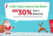 Christmas web hosting offers