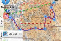 Maps Manufaktura Travel / te, które pokazują szlak, drogę