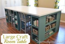 Craft room ideas.... / by Kim Washington