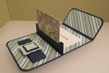 Card Gift card holder