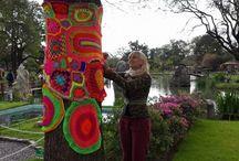 Yarn Bombing / Street Art, Yarn Bombing / by Eun-tack Lee
