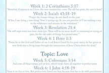 We love, because he first loved us 1John 4:19