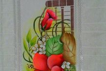 toallas pintadas