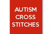 Autism cross stitches