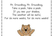 preschool groundhog