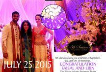 faisal and erin / wedding at westin
