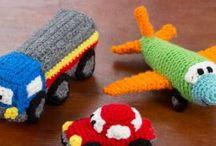 jouets au crochet