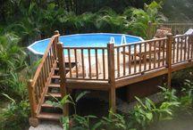 deck piscine