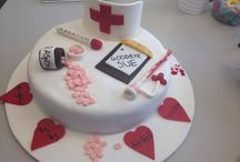 Cardiac Nurse retirement cake.
