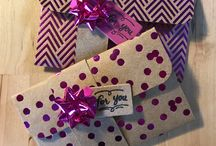 Gift card & Boxes