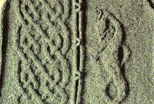 узоры вязание