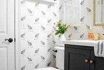 Fun with wallpaper / by Gayle Butler