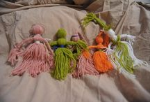 My homemade dolls