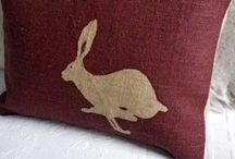 Folksy bunny