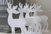~ Christmas Styling - White