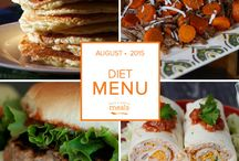 Diet Freezer Menu August 2015 / by Once A Month Meals