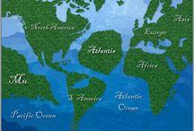 a föld, mint egy összefüggő kontinens