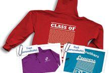 Leavers' Hoodies / Customised leavers' hoodie designs and ideas