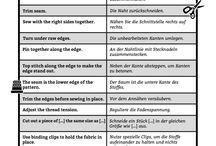 Anleitungen übersetzt
