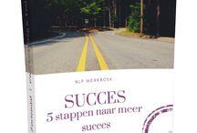 Succes Werkboeken | NLP en meer / YOUR PATH TO SUCCESS | Werkboeken > items over #NLP, #werk, persoonlijk #ontwikkeling -en groei naar meer #succes in je #leven