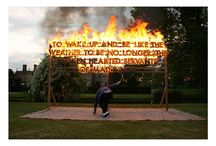 "Robert Montgomery / ""Poetry is an expanded language, which explains the magic of life. I think poetry will always be important because its real purpose is to uncover the magical in the everyday"" – Robert Montgomery"