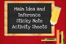 Main Idea Details Inference / by Sonya Pendley