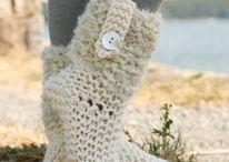 Носки, вязание