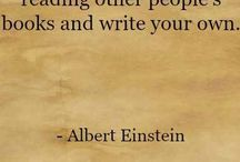 Inspiration quotes for writing / Inspirational quotes to keep your mood up and keep you motivated writing.