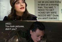 Darcy & Loki