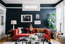 MML: My {Revamped} Home Tour On The Everygirl / My old SF apartment was my little bachelorette pad - once my fiance moved in with his dog, Rufus it became our place. See how it was transformed (on a budget)!