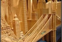 Toothpick & Matchstick Art