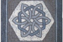 Celtic Knot Hooked Rugs