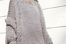 Big cosy oversized sweaters