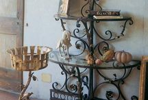 Wrought iron furniture / wrought iron furniture, console table and other...