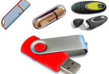 Custom USB Flashes by Eyedea Worx / A sample of some of our custom USB flash drives.