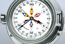 """24 Hour Clocks / 24 Hour, or """"military time"""" clocks available at BellClocks.com.   These are true 24 hour movement clocks, meaning all 24 hours are indicated on the dial, and the clock cycles once each day (24 hours).  We're always looking for more brands - your comments are welcome!"""