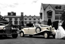 Our Wedding Cars / Our Beauford and Badsworth vintage style wedding cars.