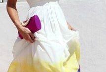 Watercolor clothes