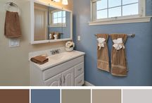 Color Palettes / Paint and decor inspiration for your home!