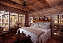 Dreaming of a Log Home... / Bedrooms