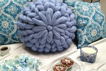 Merino wool decor / handmadewithlove