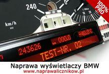 Naprawa licznika BMW / Naprawa liczników BMW E38 E39 X5 E46 ale i nowszych. Właściwie to jesteśmy w stanie naprawić każdy licznik BMW. Wskaźniki, wyświetlacze, uszkodzone dane..
