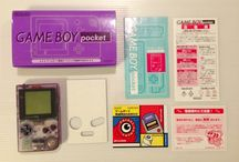 Game Boy Pocket Purple Clear