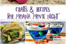 moana movie night