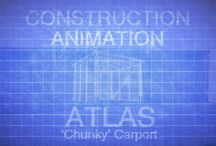 Construction Animations 2017 / Animations of the construction process for a variety of our products.