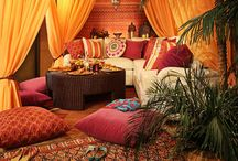 Exotic Moroccan Room