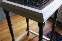 Decor: Metal Grate Inspirations! / Turing old into the perfect accent piece. / by Designed Decor