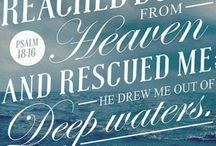 Inspirational words / Encouraging Christ-centered words