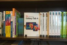 My Samsung Galaxy Tab Book Series / Photos from the My Samsung Galaxy Tab book series written by Eric Butow. (The Tab 4 and older editions are co-authored by Lonzell Watson.)