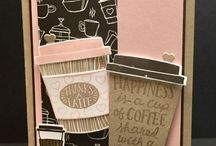 "Stampin Up Coffee Break Suite / These are cards and projects I've created using ""Coffee Break Suite"" by Stampin' Up!. Full supply lists can be found on my blog www.stampwithpeggy.com come check it out."